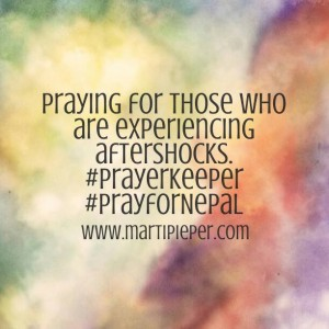 Aftershock Prayer