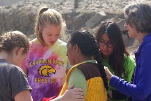 Praying in Peru