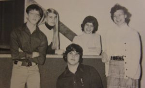 Student Body Officers, Lakota High School, 1976